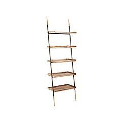 Swoon - Mango wood 'Houdini' shelving unit
