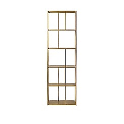Swoon - Bronze 'Aero' small shelving unit