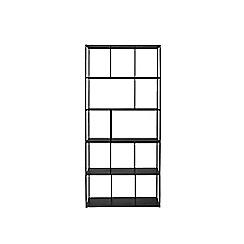 Swoon - Black iron 'Aero' large shelving unit