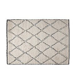 Swoon - Natural and black 'Illias' rug