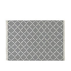 Swoon - Smoke 'Soho' hand- woven rug