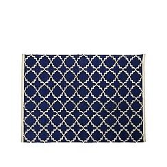 Swoon - Midnight 'Soho' hand-woven rug