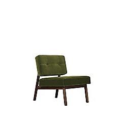 Swoon - Easy velvet 'Aron' armchair