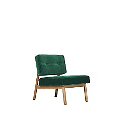 Swoon - Deep velvet 'Aron' armchair