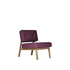 Swoon - Soft wool 'Aron' armchair