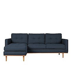 Swoon - House weave 'Berlin' left-hand facing corner sofa