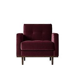 Swoon - Deep velvet 'Berlin' armchair