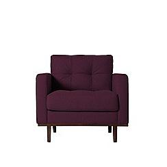 Swoon - Soft wool 'Berlin' armchair