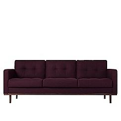 Swoon - Three-seater soft wool 'Berlin' sofa