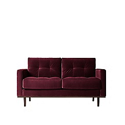 Swoon - Two-seater deep velvet 'Berlin' sofa