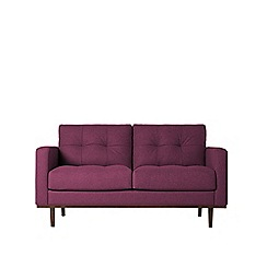 Swoon - Two-seater soft wool 'Berlin' sofa