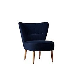Swoon - Deep velvet 'Fitz' chair