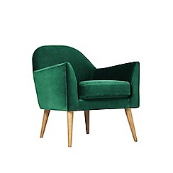 Swoon - Deep velvet 'Juno' armchair