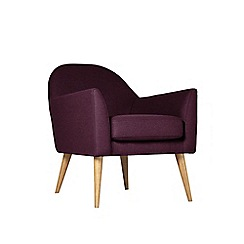 Swoon - Soft wool 'Juno' armchair