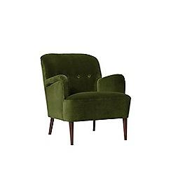 Swoon - Deep velvet 'London' armchair