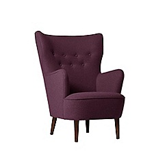 Swoon - Soft wool 'Ludwig' armchair