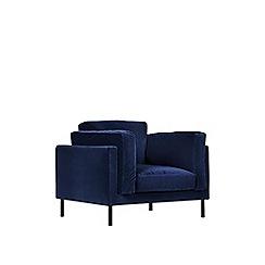 Swoon - Deep velvet 'Munich' armchair