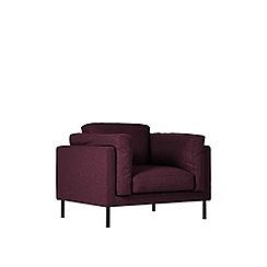 Swoon - Soft wool 'Munich' armchair