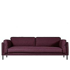 Swoon - Three-seater soft wool 'Munich' sofa