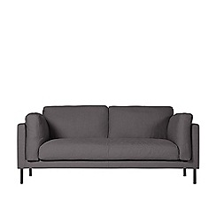 Swoon - Two-seater brushed linen-cotton 'Munich' sofa