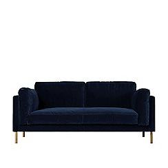 Swoon - Two-seater easy velvet 'Munich' sofa