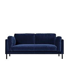 Swoon - Two-seater deep velvet 'Munich' sofa
