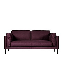 Swoon - Two-seater soft wool 'Munich' sofa