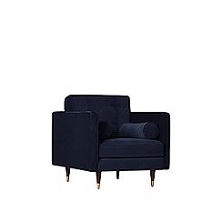 Swoon - Easy velvet 'Porto' armchair