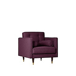 Swoon - Soft wool 'Porto' armchair