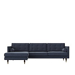 Swoon - House weave 'Porto' left-hand facing corner sofa