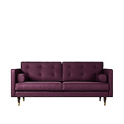 Swoon - Two-seater soft wool 'Porto' sofa