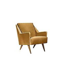 Swoon - Easy velvet 'Rune' chair