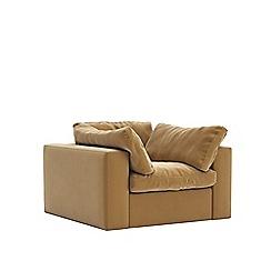Swoon - Easy velvet 'Seattle' armchair