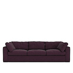 Swoon - Three-seater soft wool 'Seattle' sofa