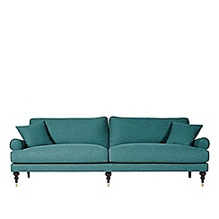 Swoon - Three-seater soft wool 'Sutton' sofa