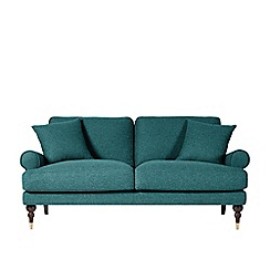 Swoon - Two-seater soft wool 'Sutton' sofa