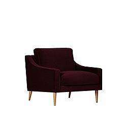 Swoon - Deep velvet 'Turin' armchair