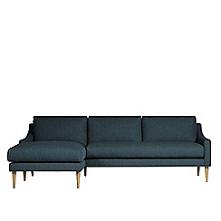 Swoon - House weave 'Turin' left-hand facing corner sofa