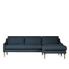 Swoon - House weave 'Turin' right-hand facing corner sofa