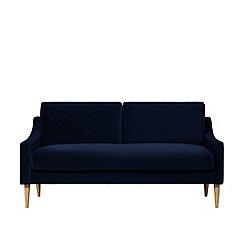 Swoon - Two-seater easy velvet 'Turin' sofa