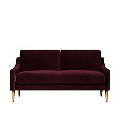 Swoon - Two-seater deep velvet 'Turin' sofa