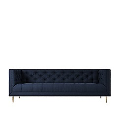 Swoon - Three-seater soft wool 'Vincent' sofa