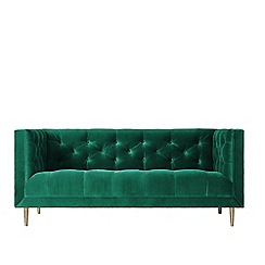 Swoon - Two-seater deep velvet 'Vincent' sofa