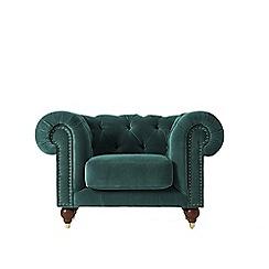 Swoon - Deep velvet 'Winston' armchair