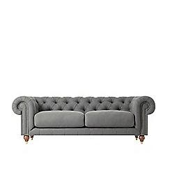 Swoon - Three-seater soft wool 'Winston' sofa