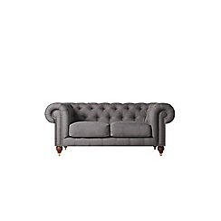 Swoon - Two-seater brushed linen-cotton 'Winston' sofa