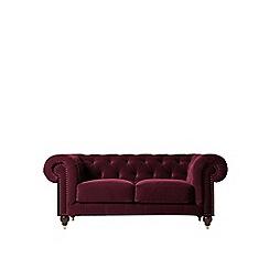 Swoon - Two-seater deep velvet 'Winston' sofa