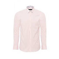 QUIZMAN - Pink slim fit shirt