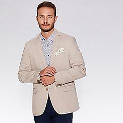 QUIZMAN - Alex's stone cotton blend slim fit blazer