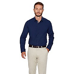 QUIZMAN - Navy slim fit shirt